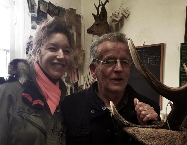 André Rouillon et Stéphanie Barthes