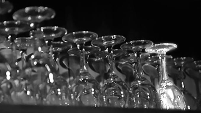 verre lueur